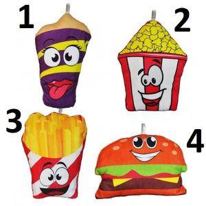 PELUCHE Peluche Nourriture Rigolote - Mod4 Burger - Cadeau