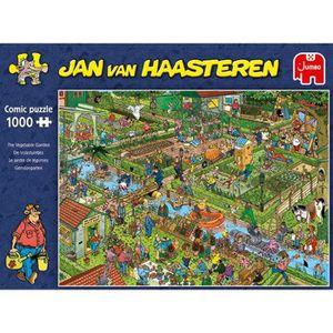 PUZZLE puzzle Jumbo Jardin potager 1000 Pièces