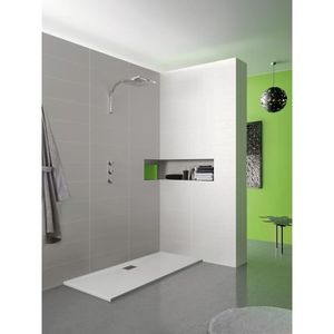 receveur de douche extra plat 80x100 achat vente. Black Bedroom Furniture Sets. Home Design Ideas