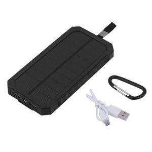 BATTERIE EXTERNE 50000mAh Chargeur de batterie solaire Portable Pow