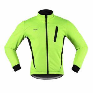 VESTE DE CYCLISTE hiver jersey veste sports cyclistes hommes VTT en