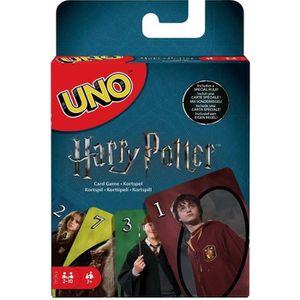 CARTES DE JEU UNO Harry Potter Jeu de cartes - 2 à 10 joueurs -