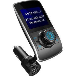TRANSMETTEUR FM Sans fil Kit voiture mains libres Bluetooth Charge