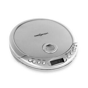 BALADEUR CD - CASSETTE oneConcept CDC-300 - Lecteur CD MP3 avec anti-choc