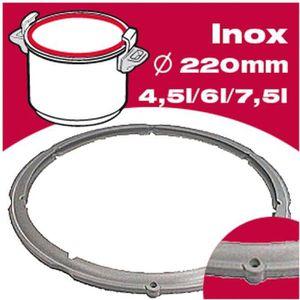 ACCESSOIRE AUTOCUISEUR SEB Joint autocuiseur inox 980157 4,5-6L Ø22cm gri