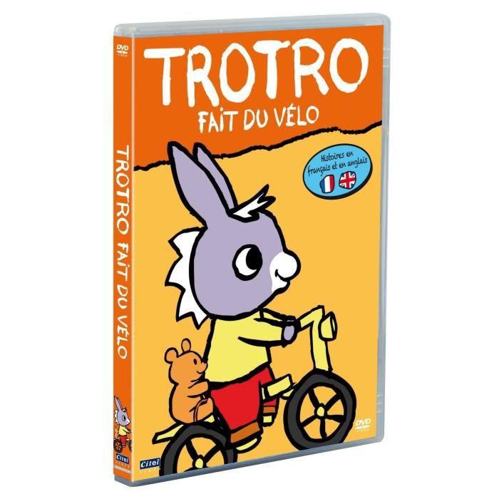 Dvd Trotro Volume 1 Trotro Fait Du Velo En Dvd Dessin Anime