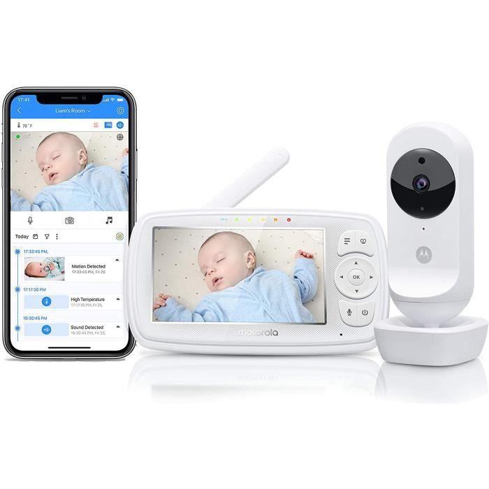 Motorola Ease 44 Connect - Babyphone Wi-Fi avec cam&eacutera - Moniteur B&eacutebé avec &Eacutecran vid&eacuteo HD 69