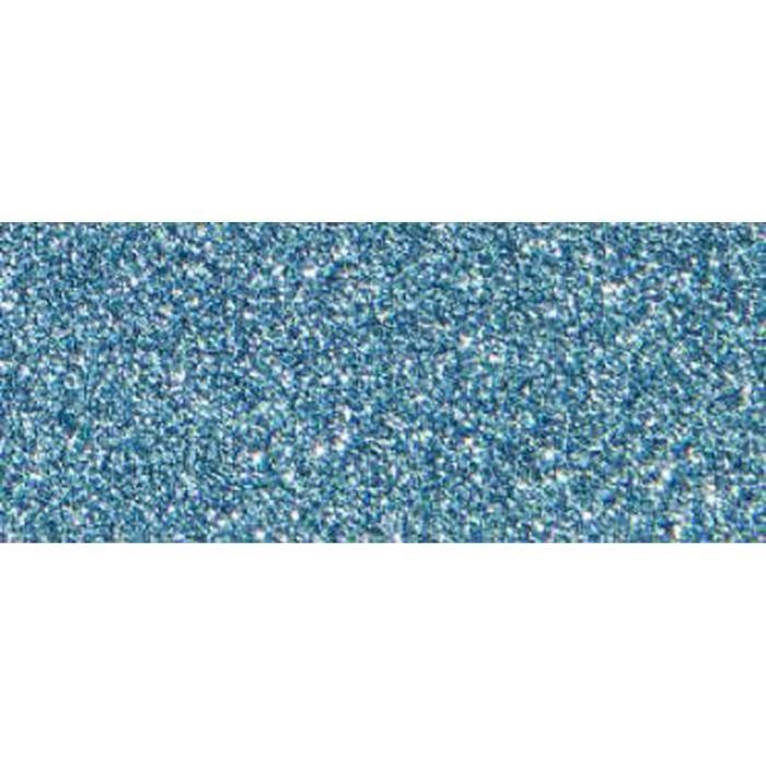 Décoratif Ruban Adhésif Avec Des Paillettes - 5m x 15mm - Bleu Clair, Folia Bringmann