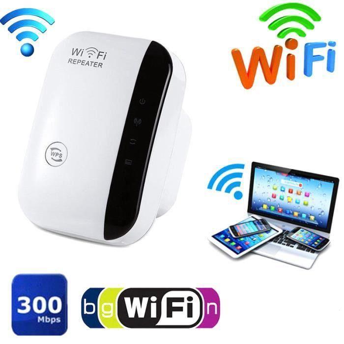 GZ*Prolongateur de portée WiFi Super Booster 300 Mbps Superboost Augmentation de la vitesse Répéteur WiFi sans fil