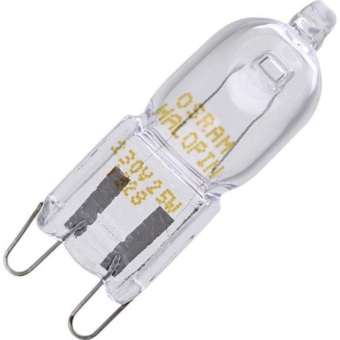 Ampoule halogène de four G9 40W (293262-8944) - Four, cuisinière - WHIRLPOOL, ELECTROLUX, BAUKNECHT, AEG, SAMSUNG, SMEG, FAURE,