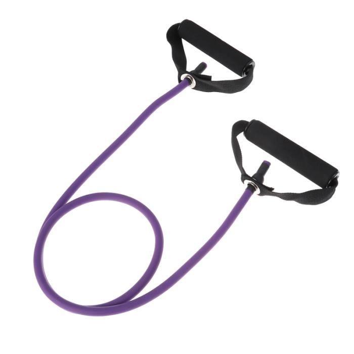 Tubes de Fitness élastiques, corde de traction de Yoga, bandes de résistance d'entraînement en Latex avec ancre de porte pour la