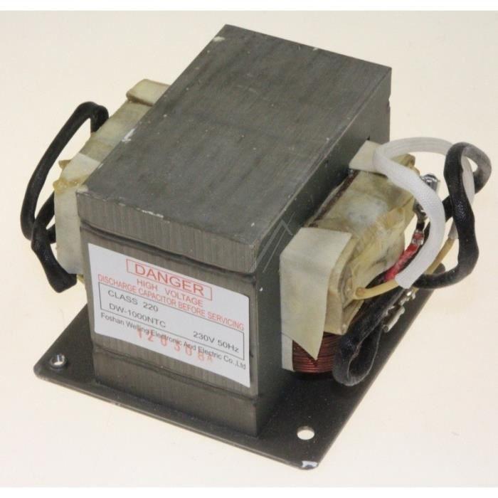 Transformateur haute tension pour micro ondes WHIRLPOOL 4928240 - JT359 480120101605 0111787J JT - BVMPièces
