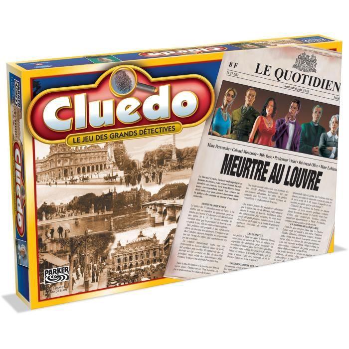 Cluedo Meurtre au Louvre - Jeu de société - HASBRO