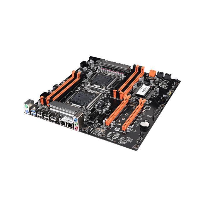 carte mere double processeur Carte mère double processeur Jingsha X79 LGA2011 SATA3.0 Carte