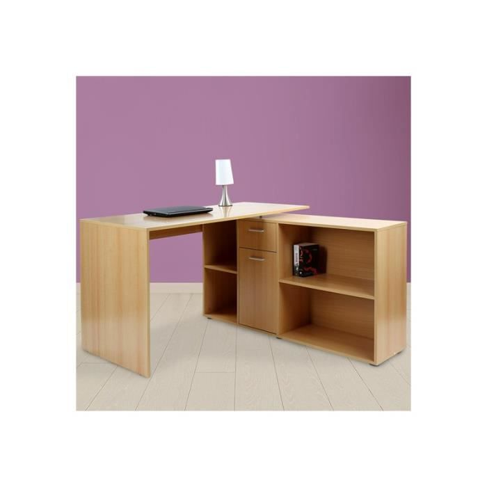 bureau finlandek bureau d angle net ch ne blanc. Black Bedroom Furniture Sets. Home Design Ideas