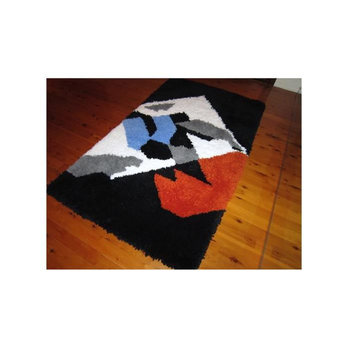 tapis shaggy a poils long aladin 2 multicolor achat. Black Bedroom Furniture Sets. Home Design Ideas