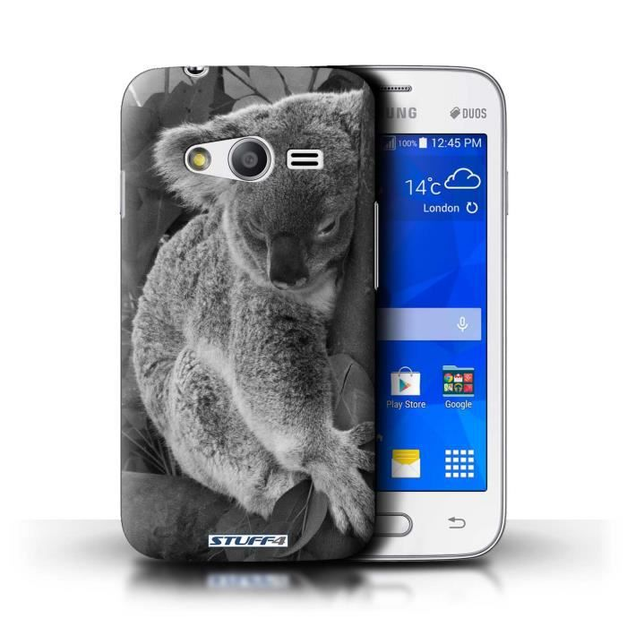 coque de stuff4 coque pour samsung galaxy ace 4 lite g313 koala design animaux de zoo. Black Bedroom Furniture Sets. Home Design Ideas