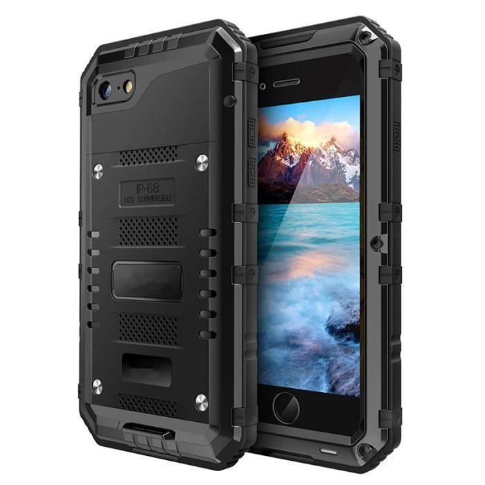 coque iphone 7 en aluminium aeronautique et silico