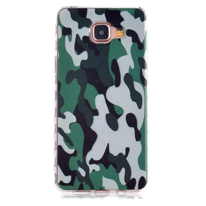 pour samsung galaxy a3 2016 camouflage style soft silicone tpu etui coque protecteur cover. Black Bedroom Furniture Sets. Home Design Ideas