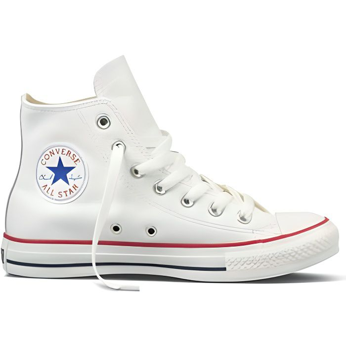 Leather Star All Hi All Star Hi BLANC Leather LSMpzUVqG