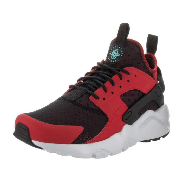 nike huarache run ultra rouge