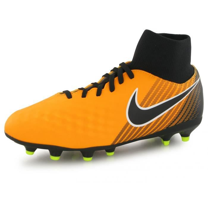 Nike Magista Onda Ii Df Fg orange, chaussures de football enfant