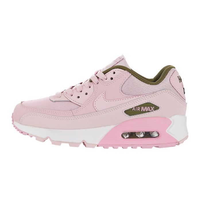 Baskets Nike Air Max 90 Femme Rose Rose Rose - Cdiscount Chaussures