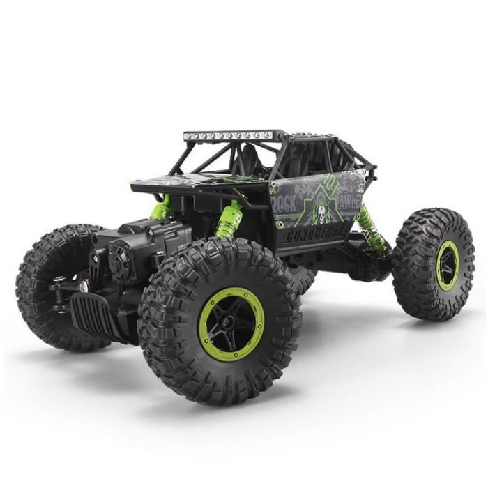 vert 2 4 ghz voiture electrique rc t l commande 4wd d 39 escalade 4x4 double motors jouet cadeau. Black Bedroom Furniture Sets. Home Design Ideas