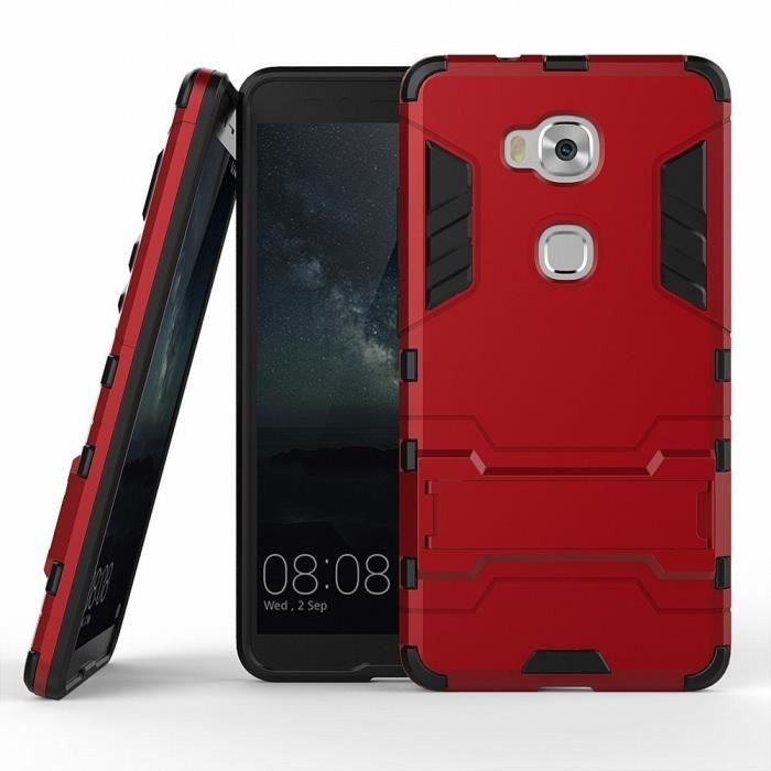 Coque protektor huawei honor 5x 5 5 pouces rouge housse for Housse honor 5x