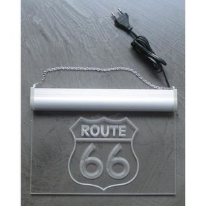 Cadre usa achat vente cadre usa pas cher cdiscount for Decoration murale route 66