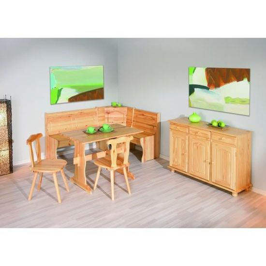 Coin Repas 1 Banc D Angle 1 Table 2 Chaises Achat