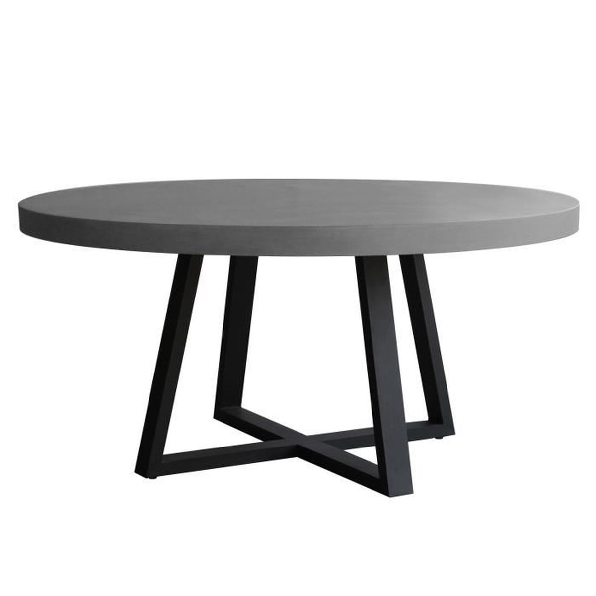Table ronde mahuru 140 cm achat vente table a manger for Table a manger ronde