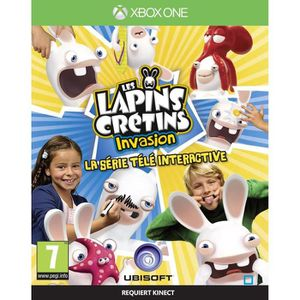 JEUX XBOX ONE Lapins Crétins Invasion TV Interact Jeu XBOX One