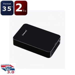 DISQUE DUR EXTERNE Intenso Memory Center 2To 3.5