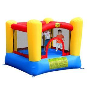 AIRE DE JEUX GONFLABLE Happy hop Aire de jeux gonflable avec trampoline -