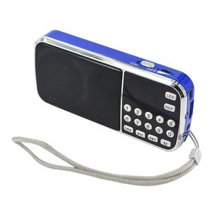 ENCEINTE NOMADE Style Portable Enceinte blue Electronique Kebidu P