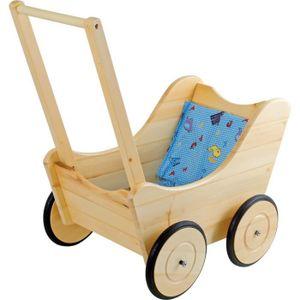 LANDAU - POUSSETTE Landau poussette de poupée «Nostalgie» en bois à p