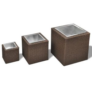 cache pot zinc achat vente cache pot zinc pas cher cdiscount. Black Bedroom Furniture Sets. Home Design Ideas