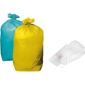 SAC POUBELLE Sacs poubelles 110 litres jaune - carton de 200