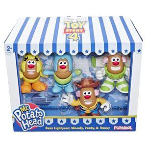 FIGURINE - PERSONNAGE Mr Potato Head Playskool Toy Story 4 - Pack de 4 f