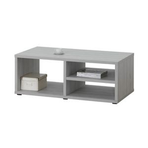 Table basse 120 x 60 cm enrico l 120 x h 45 x p 60 cm for Table basse et haute a la fois
