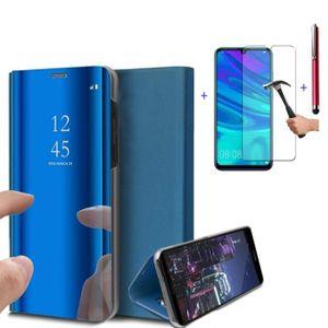 HOUSSE - ÉTUI Coque Samsung Galaxy A50 Clear View Etui à Rabat M