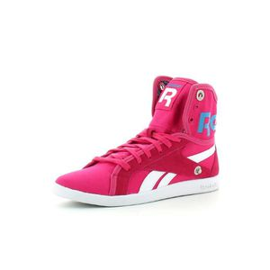 Chaussures Mode Reebok Top Down Rose Rose Achat