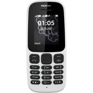 SMARTPHONE Mobile NOKIA 105 Blanc DS