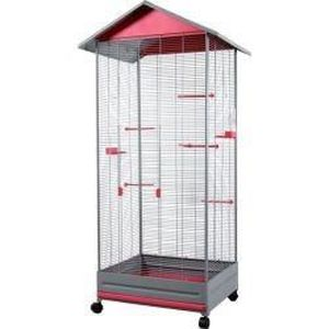 voli re laia couleur rose achat vente voli re cage oiseau voli re laia couleur rose. Black Bedroom Furniture Sets. Home Design Ideas