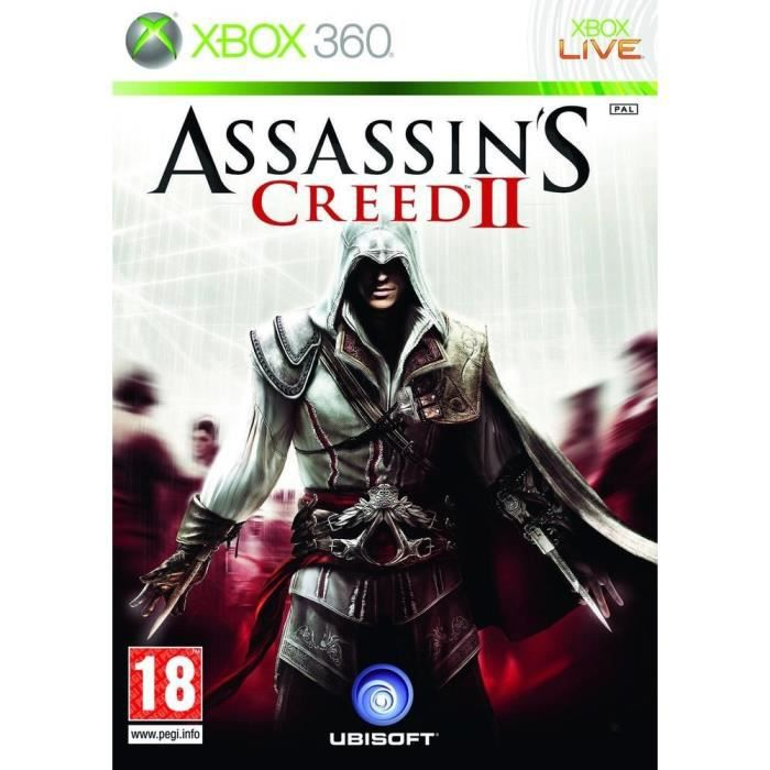 JEUX XBOX 360 ASSASSIN'S CREED 2 / JEU CONSOLE XBOX360