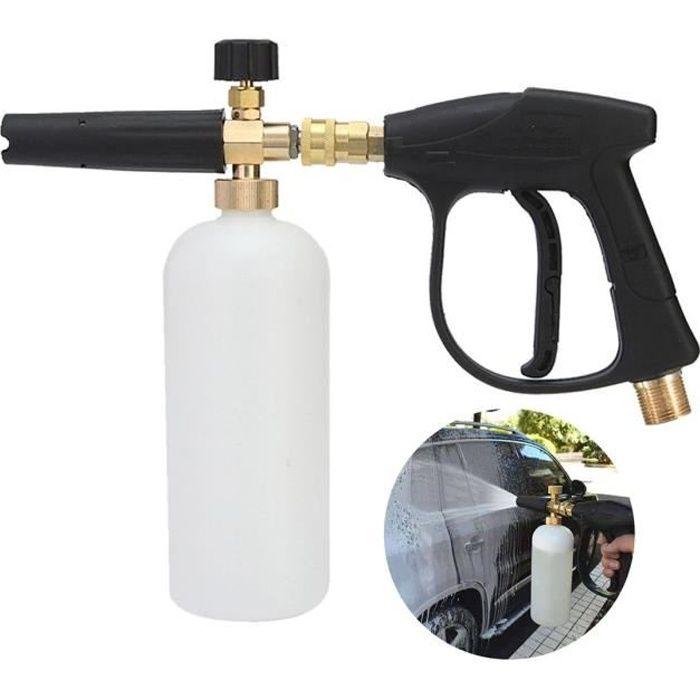 Canon à lance en mousse à neige pour laveuse à pression avec adaptateur rapide de 1/4 ''