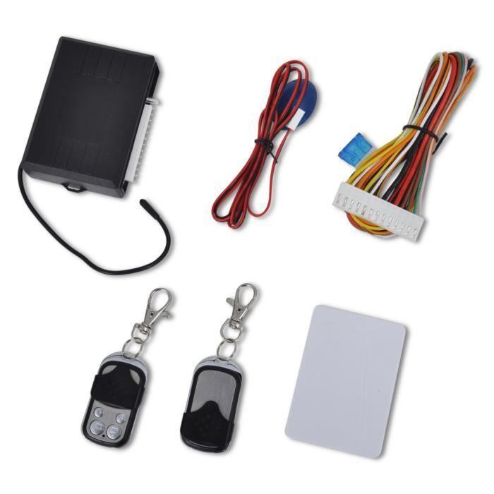 Kit Verrouillage centralisé universel avec 2 télécommandes
