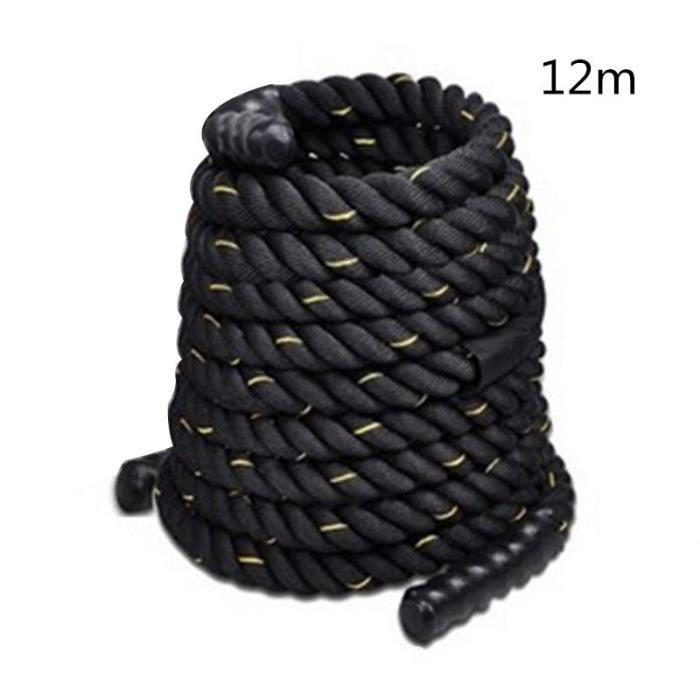 Corde d'entraînement de force de corps de corde d'entraînement de puissance de 38mm 12-15m corde d'e - Modèle: MULTI - HSJSTSA10208
