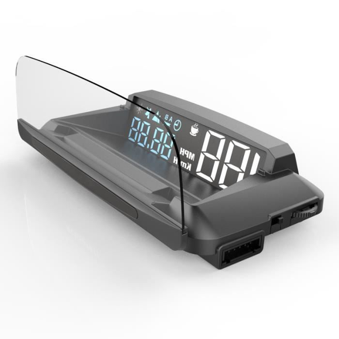 G3 universel voiture HUD affichage tête haute Navigation GPS projecteur avertissement de vitesse USB Hud affichage